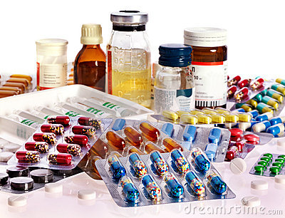 Blister pack of pills. Remedy.