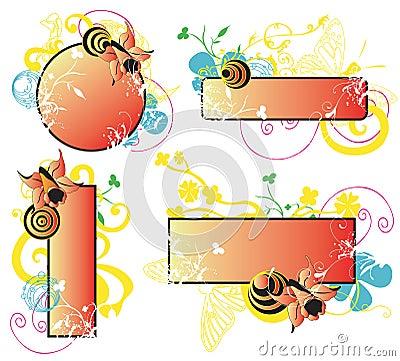 Blocchi per grafici decorativi