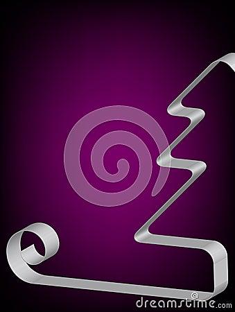 Blocco per grafici dell annata con l illustrazione di vettore dell arco