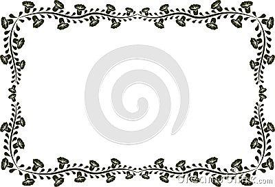 Blocco per grafici floreale