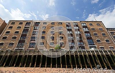 Block of flats in Docklands. London. UK