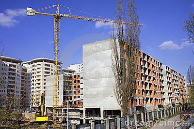 Block of Flats Under Construction