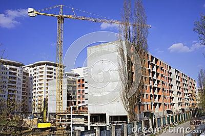 Block of Flats Under Construction