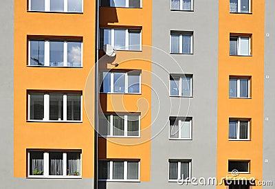 Block of flats, urban building
