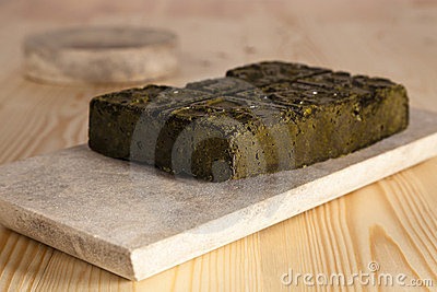 A Block Of Henna