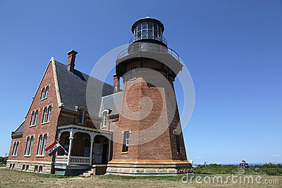 Block Island Southeast Light Stock Photo - Image: 28941380