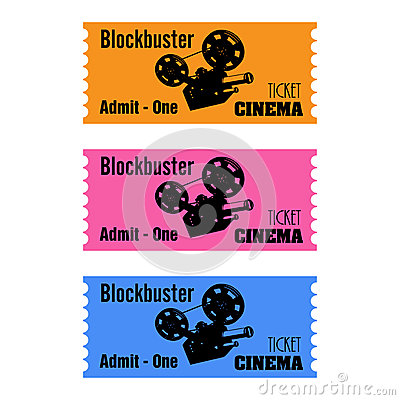 Blockbuster cinema tickets