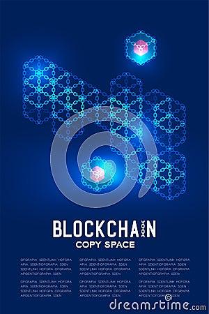 Free Blockchain Technology 3D Isometric Virtual, Private Key Concept Design Illustration Stock Photos - 123045193