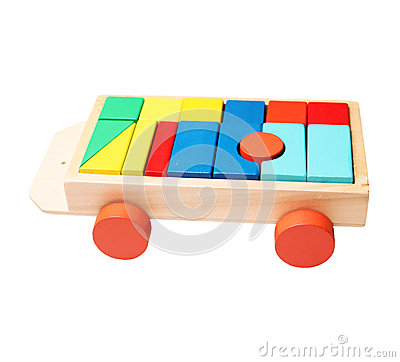 Free Blocks On A Trolley Royalty Free Stock Photo - 47269455