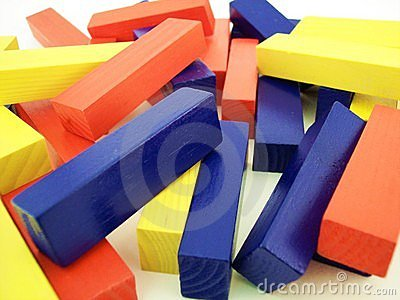 Blocs colorés 1
