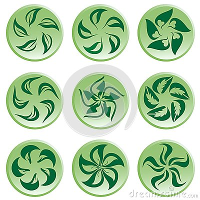 Bloemen pictogram