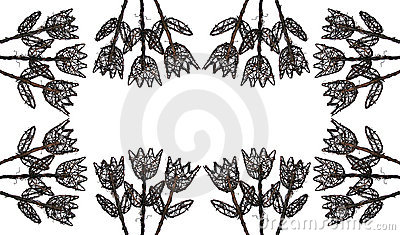 Bloemen van Houten Frame 2
