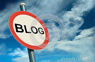Blog Signage