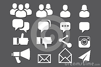 Blog and Social Media icons