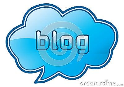 Blog sticker