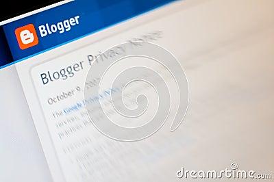 Blogger Editorial Photo