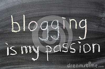 Blogging is my passion