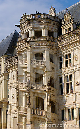 Blois staircase