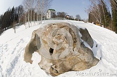 Blok boulder