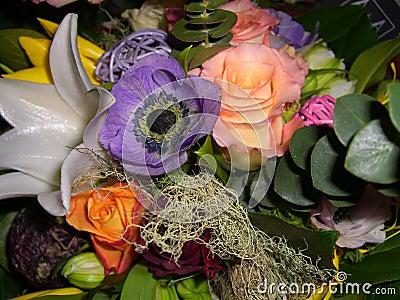 Blom- bukett