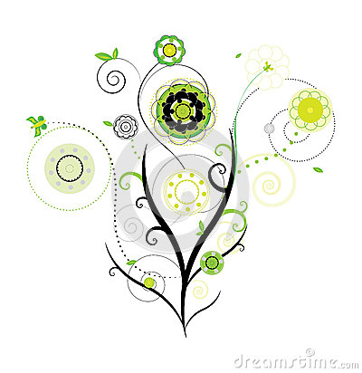 Blom- designvektor