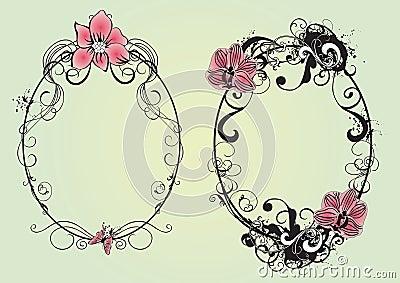 Blom- ramar
