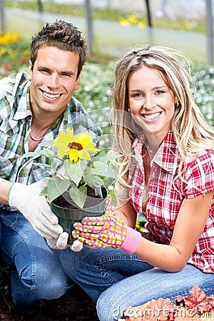 Blomsterhandlare
