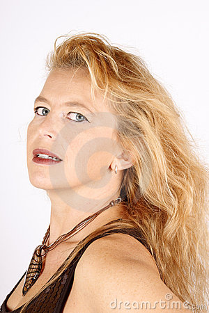 Blond Beautiful Woman Portrait Royalty Free Stock Image - Image: 11376786