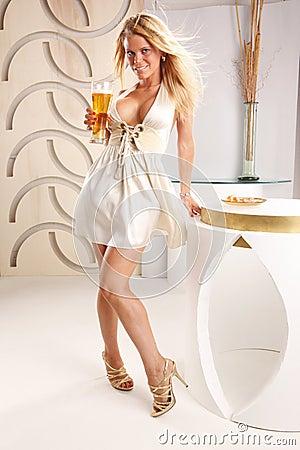 Blond beer