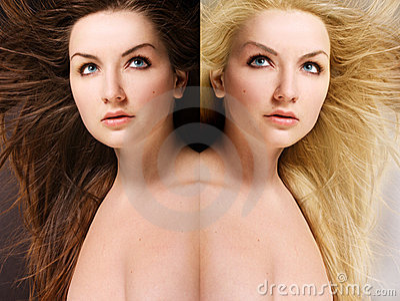 Blond Brunette