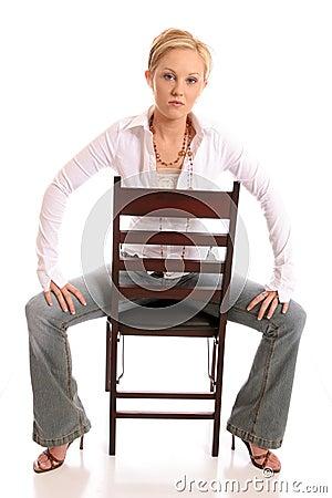 Blond chair1