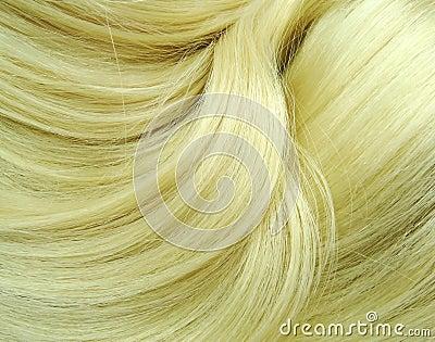 Blond highlight hair texture background