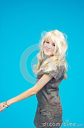 Blond Teenage Girl - 2