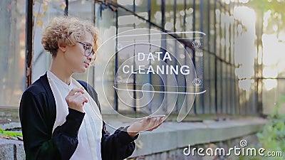 Blonde使用全息数据清理 影视素材