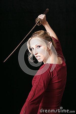 Free Blonde Assassin Stock Photos - 39063