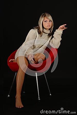 Free Blonde Girl Stock Photos - 1734683
