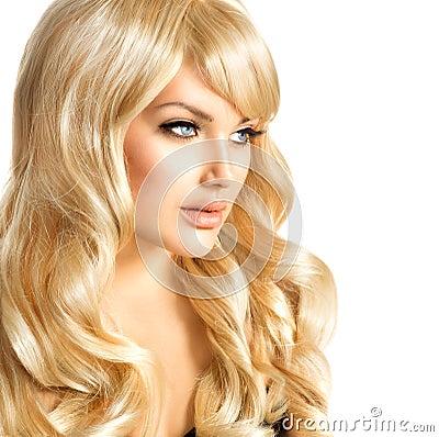 Free Blonde Girl Portrait. Blond Woman Stock Photos - 38416613
