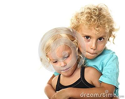 Blonde kids