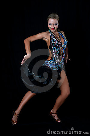 Blonde Latin Dancer Stock Images - Image: 8209144