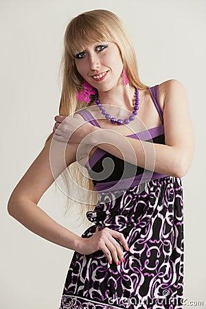 Blonde - a model