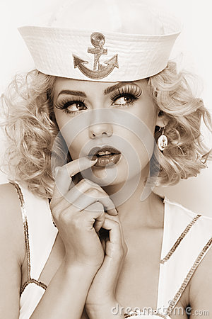 Free Blonde Sailor Stock Images - 29685194