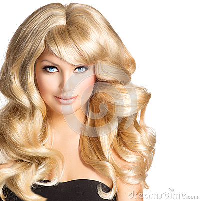 Free Blonde Woman Portrait Stock Photo - 38416610