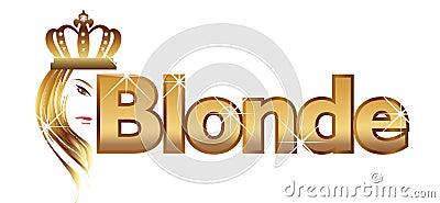 Blonde word