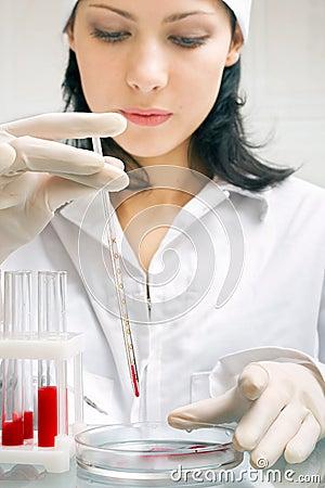 Free Blood Analysis Stock Photos - 3428953