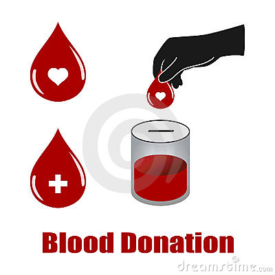 Blood donation vectors