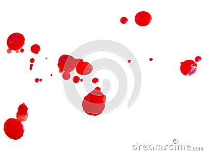 Blood drops