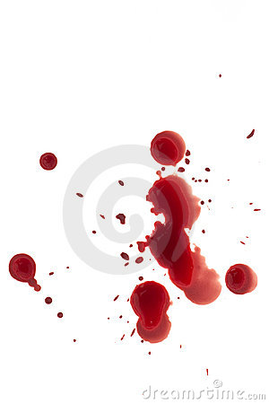 Free Blood Drops Royalty Free Stock Images - 14134089