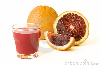 Blood Oranges With Fresh Juice
