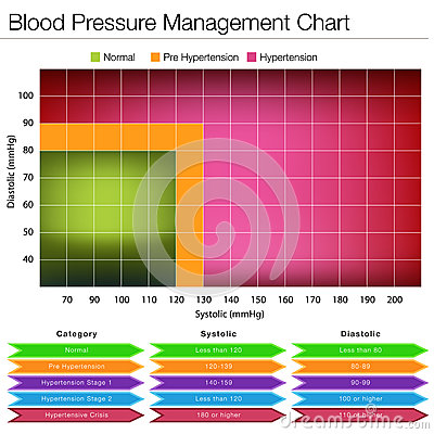 Blood Pressure Management Chart