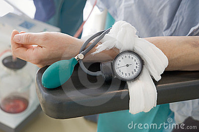 Blood pressure in surgery
